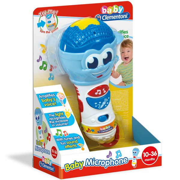 Mikrofon baby Clementoni CL17181 - ODDO igračke