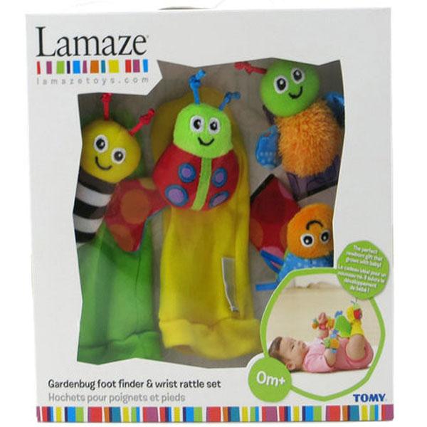 Plišani set Bube za prste Lamaze Tomy TM27634 - ODDO igračke