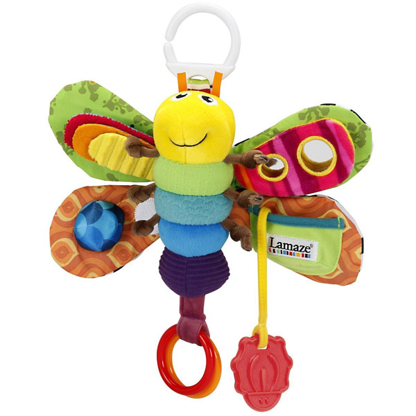 Plišana zvečka Freddie the Firefly Lamaze Tomy TM27024 - ODDO igračke