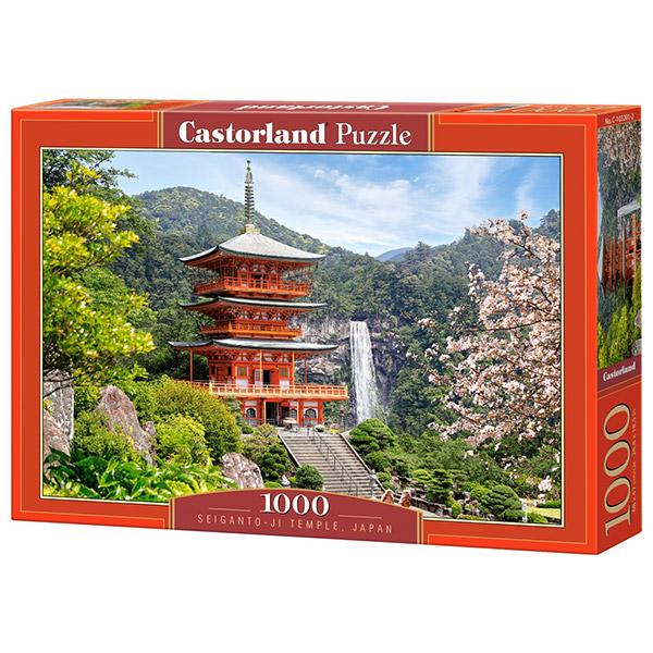 Castorland puzzla 1000 Pcs Seiganto-Ji Temple Japan 103201 - ODDO igračke