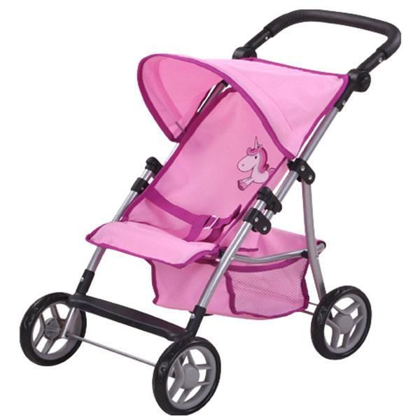 Kolica za lutke Liba Pink Unicorn 16874 - ODDO igračke