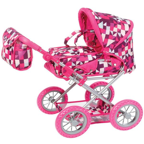 Kolica za lutke Knorr Toys Ruby Crazy Squares 63194 - ODDO igračke