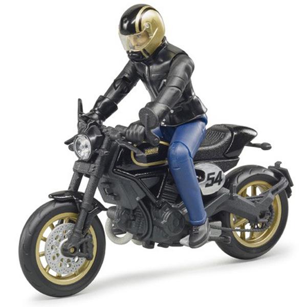 Motor Bruder Scrambler Ducati Cafe Racer sa vozačem 630508 - ODDO igračke