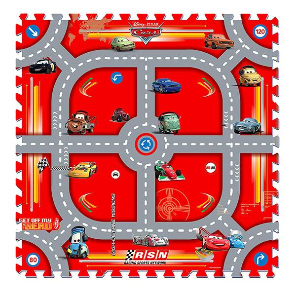 Mekana podna puzzla Cars staza 21015 Knorr - ODDO igračke