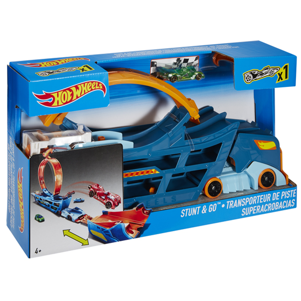 Hot Wheels transporter sa stazom MADWN56 - ODDO igračke