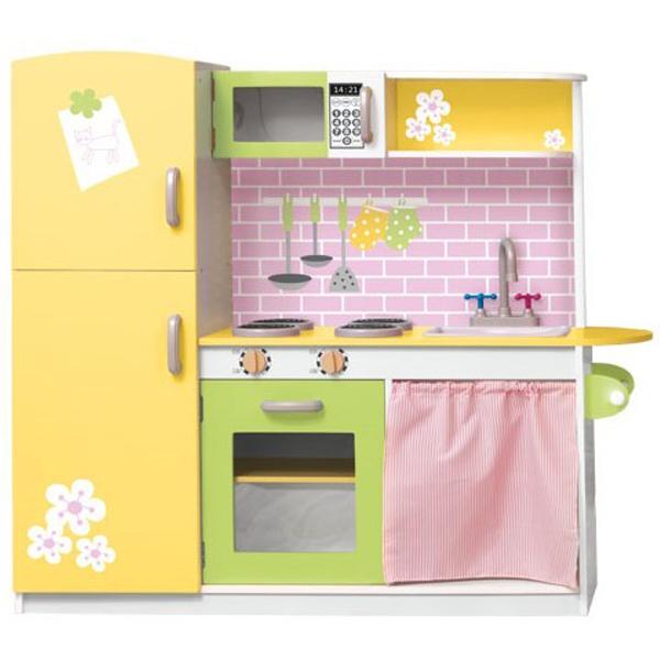 Kuhinja Drvena Woody Lily za devojčice 90242 - ODDO igračke