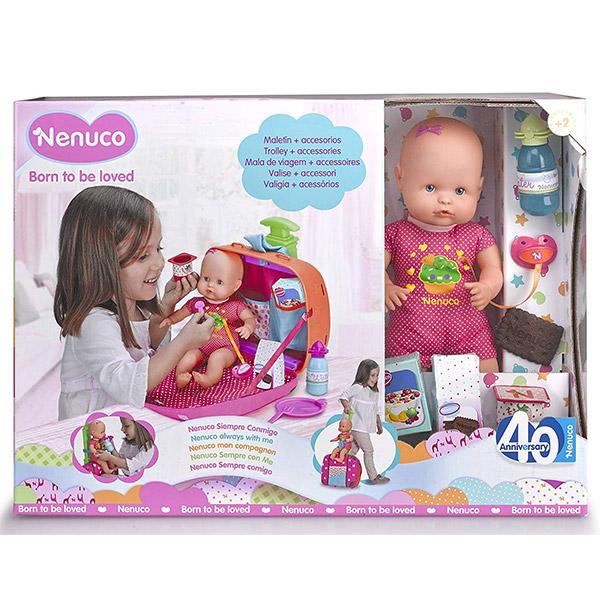 Lutka Beba Nenuco sa torbom za putovanje 128458 - ODDO igračke