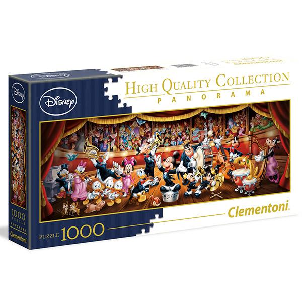Clementoni puzzla Panorama Disney Orchestra 1000pcs 39445 - ODDO igračke