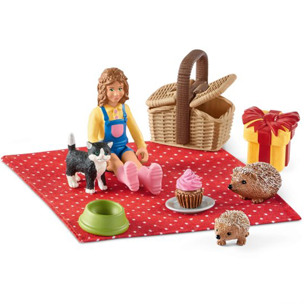 Schleich Rodjendanski piknik 42426  - ODDO igračke