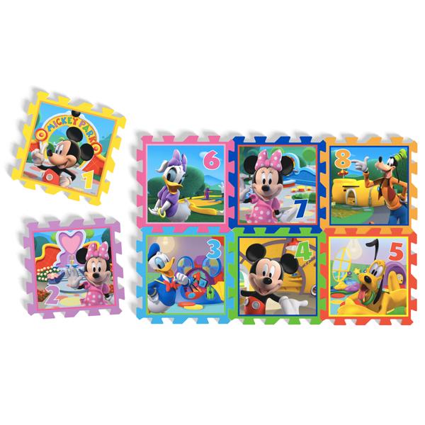 Mekane podne puzzle Knorr Mickey and Minnie 8 delova 21012 - ODDO igračke
