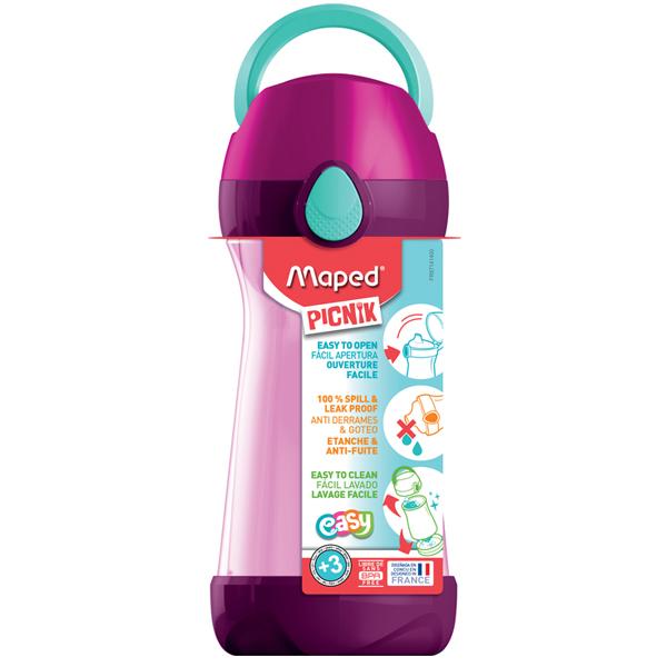 Flaša za vodu Maped CONCEPT 430ml pink M871416 - ODDO igračke