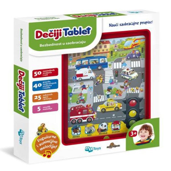 Dečiji tablet Bezbednost u saobraćaju 11/01016 - ODDO igračke