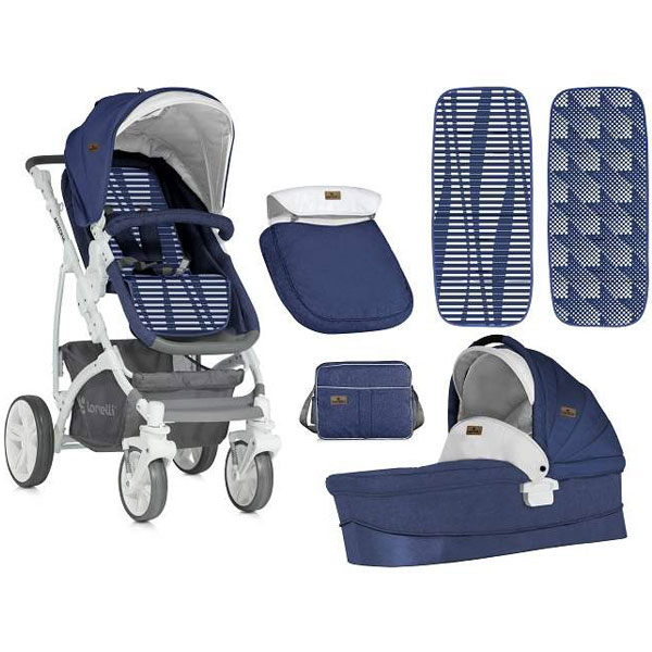 Kolica Arizona, pram body, bag blue Bertoni 10021021842 - ODDO igračke