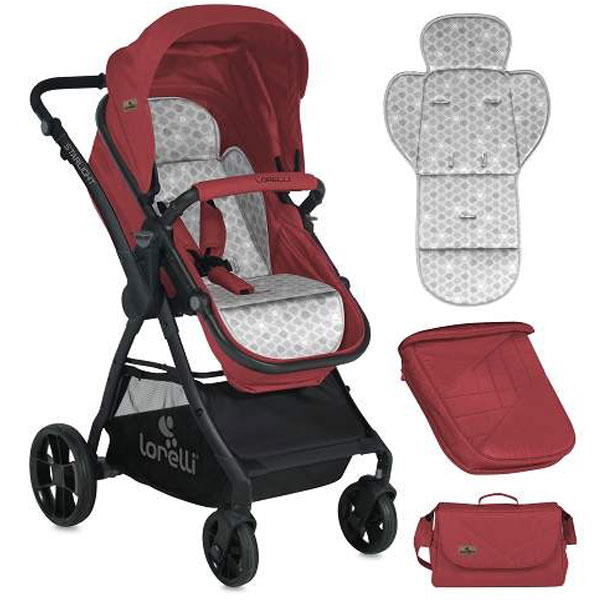 Kolica Starlight Red Bertoni 10021221865 - ODDO igračke