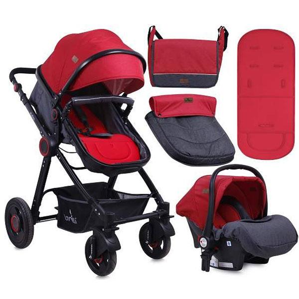 Kolica Alexa Black&Red bertoni 10021291800 - ODDO igračke