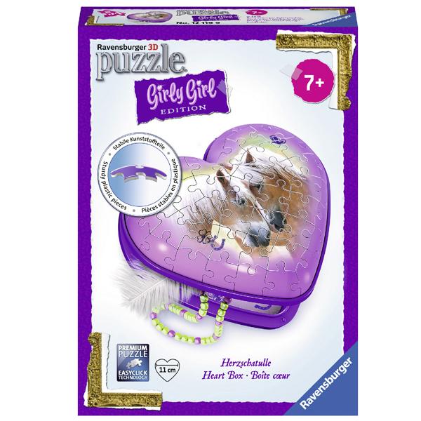Ravensburger 3D puzzle (slagalice) - Kutija u obliku srca RA12119  - ODDO igračke