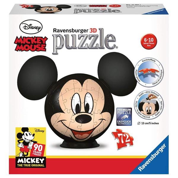 Ravensburger 3D puzzle (slagalice) 72pcs Mickey RA11761  - ODDO igračke