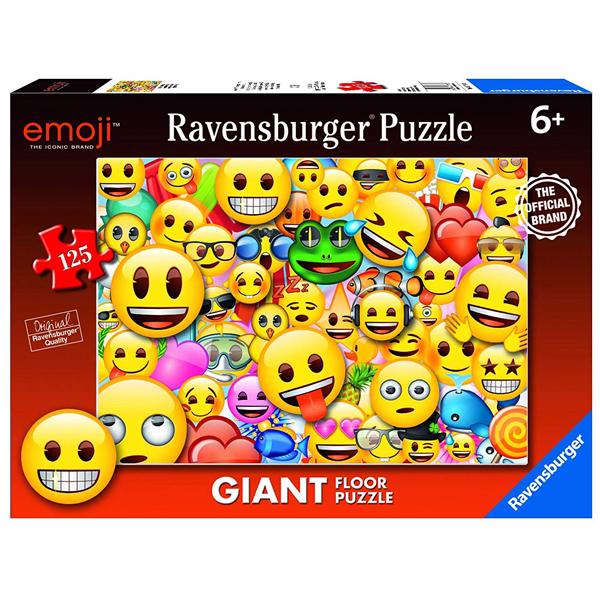 Ravensburger puzzle (slagalice) 125pcs Floor Puzzle- Smajli RA09788 - ODDO igračke