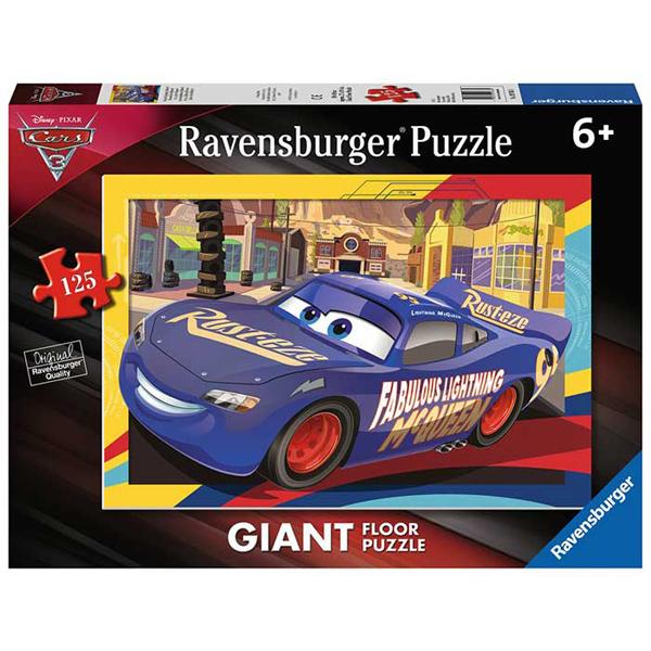 Ravensburger puzzle (slagalice) 125pcs Floor Puzzle  - Cars RA09766 - ODDO igračke