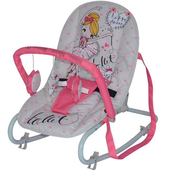 Ljuljaška/ležaljka Top Relax Pink Ballet Bertoni 10110021933 - ODDO igračke