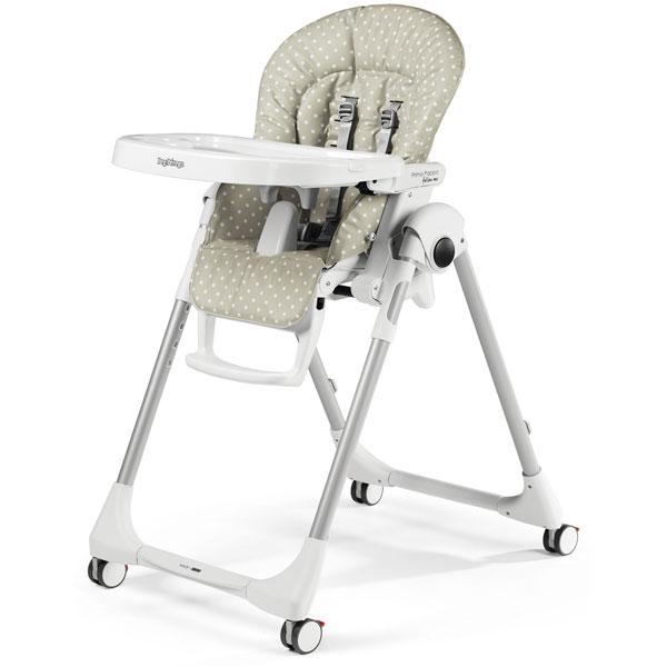 Stolica za hranjenje Prima Pappa Follow Me Babydot Beige P3510041585 - ODDO igračke