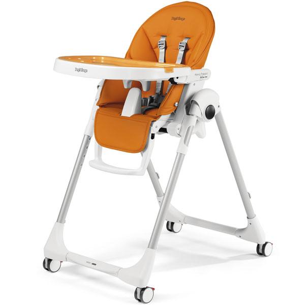 Stolica za hranjenje Prima Pappa Follow Me Arancia P3510041591 - ODDO igračke