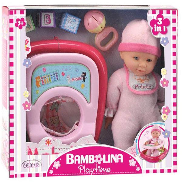 Beba Bambolina Dimian 33cm sa dubkom DI1406 - ODDO igračke