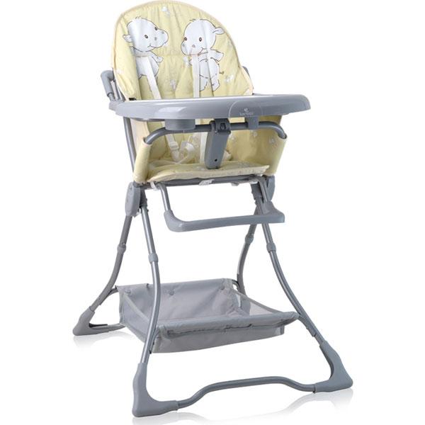 Stolica za hranjenje Bonbon Yellow Happy Hippo 10100311932 - ODDO igračke