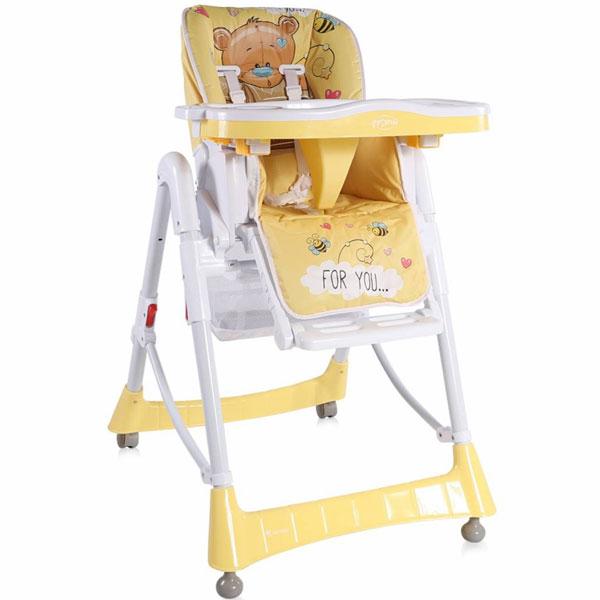 Stolica za hranjenje Primo Yellow Bear 2019 10100051919 - ODDO igračke