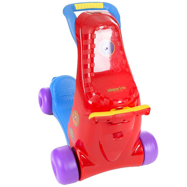 Guralica Ride-On 3u1 red blue Kikka Boo 31006030023 - ODDO igračke