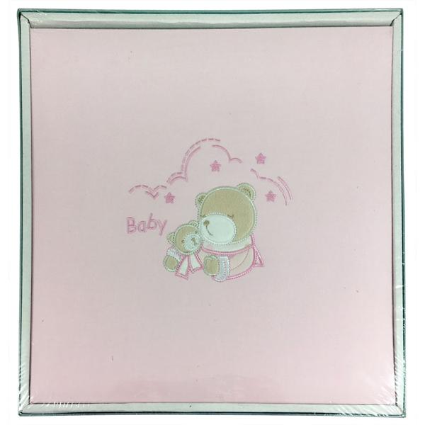 Foto album dečiji Baby Teddy Pink 28x31/40 5604 - ODDO igračke