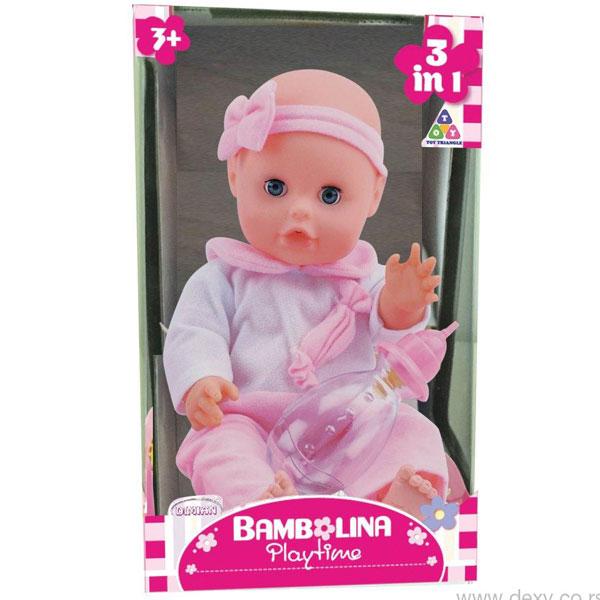 Lutka Beba Bambolina Dimian 33cm sa nošom DI1409 - ODDO igračke