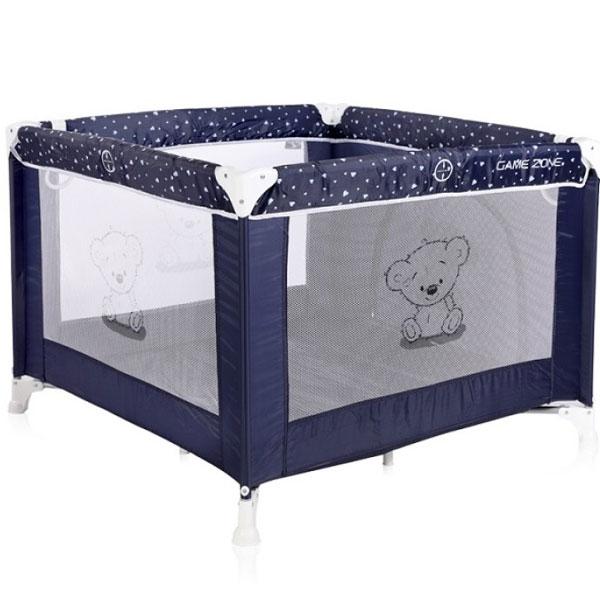 Ogradica Game Zone Dark Blue Teddy Bear 10080141832 - ODDO igračke