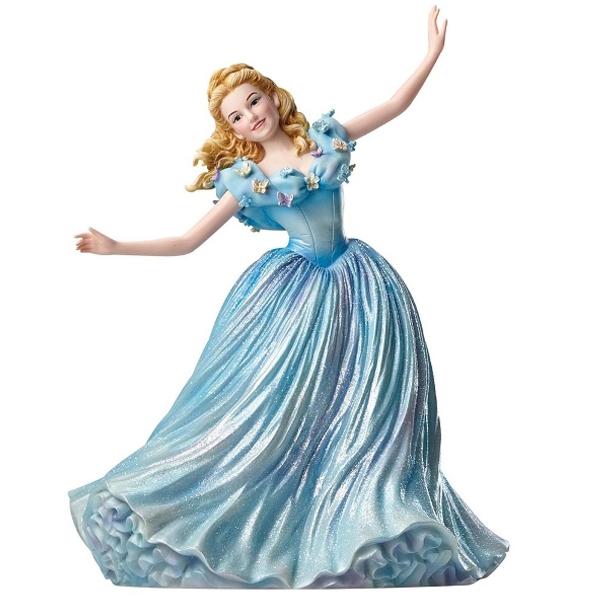 Jim Shore Live Action Cinderella Figurine 4050709 - ODDO igračke