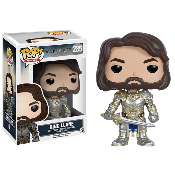 Funko Warcraft POP Movies Vinyl Figure King LLane 9 cm BOBUGT697 - ODDO igračke