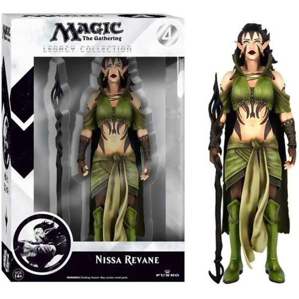 Funko Magic the Gathering Legacy Collection Action Figure Series 1 Nissa Revane 15 cm FK4119 - ODDO igračke