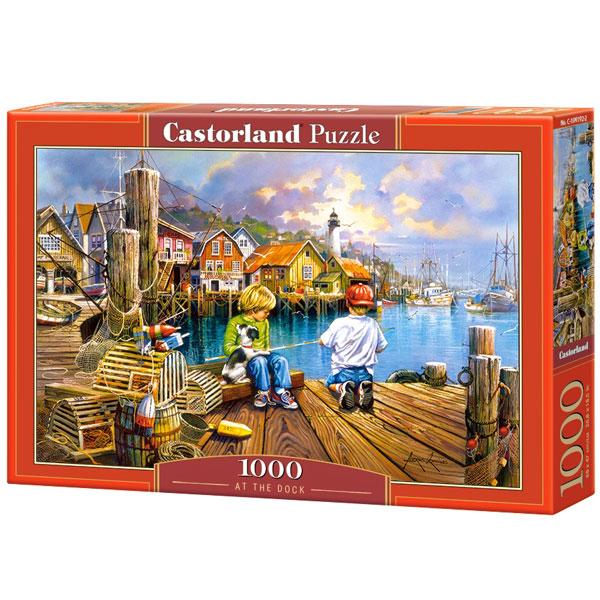 Castorland puzzla 1000 Pcs At the Dock 104192 - ODDO igračke