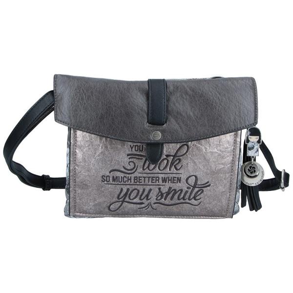 Kimmidoll torba na rame siva 27673-01  - ODDO igračke