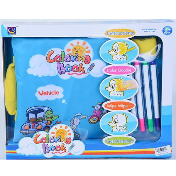 Mekana knjiga za bojenje 716518 - ODDO igračke