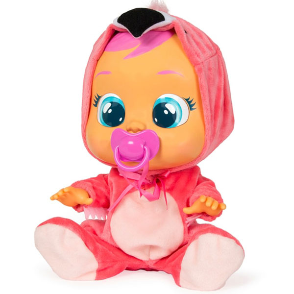 Lutke bebe Crybabies Plačljivica Fancy Flamingo IM90170 - ODDO igračke