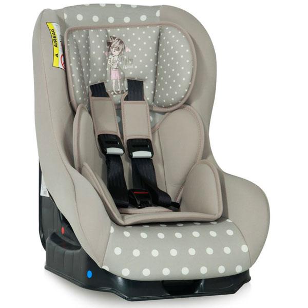 Auto Sedište za decu 0-18 kg Beta plus Beige Girls 10070781834 - ODDO igračke
