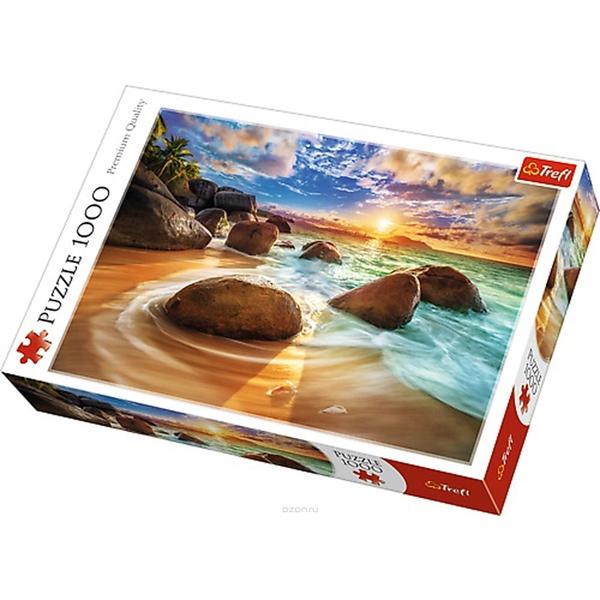 Trefl Puzzle Samudra Beach, India 10461 - ODDO igračke