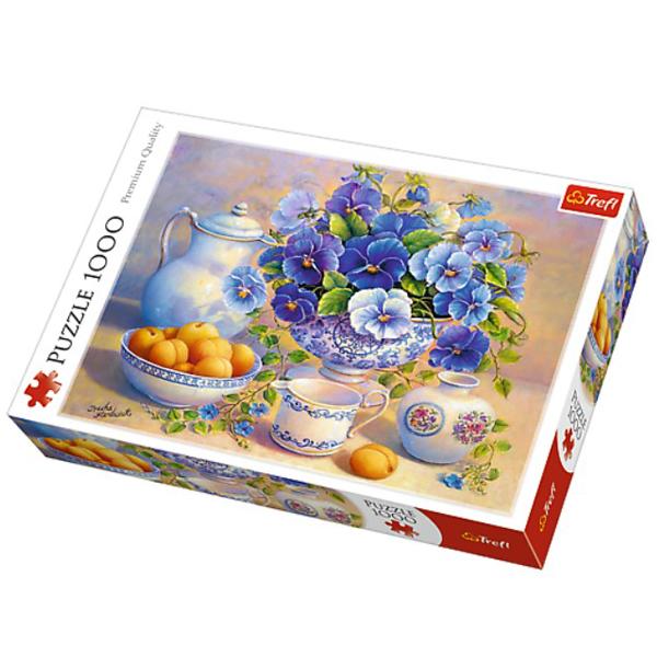 Trefl Puzzle Blue Bouquet 1000pcs 10466 - ODDO igračke