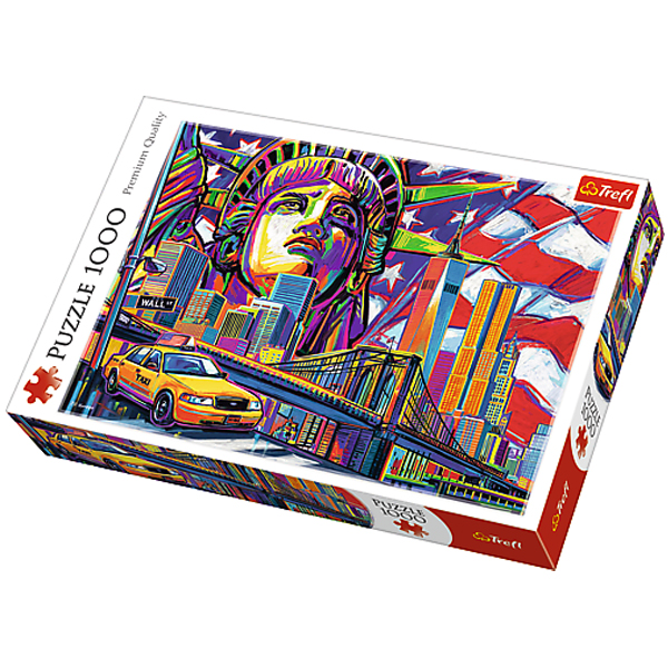Trefl Puzzle Colours of New York 1000pcs 10523 - ODDO igračke