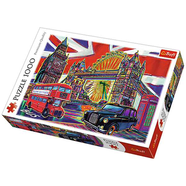 Trefl Puzzle Colours of London 1000pcs 10525 - ODDO igračke