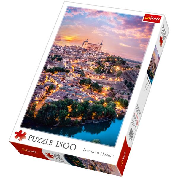 Trefl Puzzla Toledo, Spain 1500 pcs 26146 - ODDO igračke