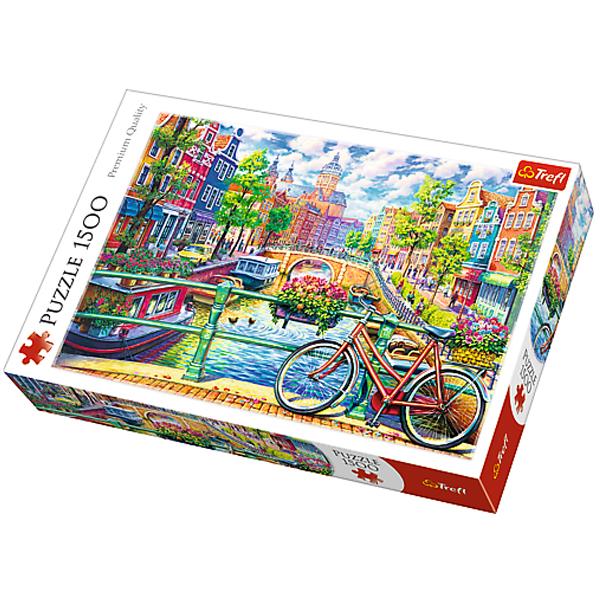 Trefl puzzla Amsterdam Kanal 1500pcs 26149 - ODDO igračke