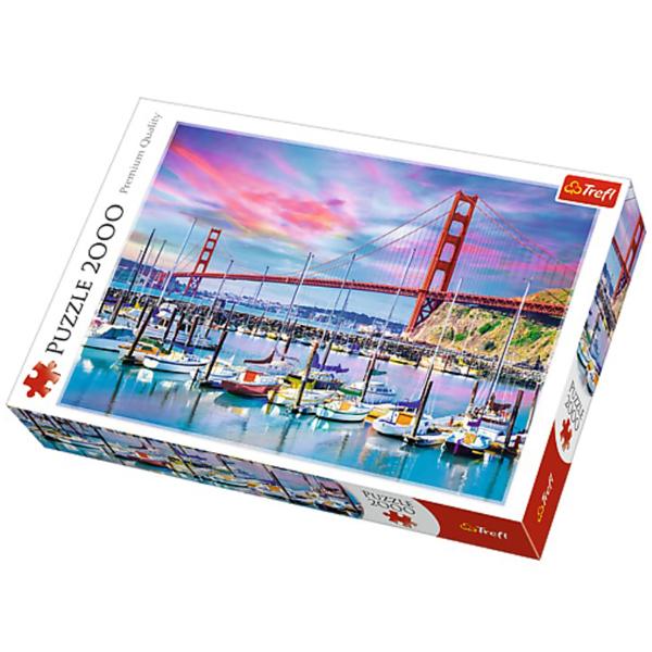 Trefl Puzzla Golden Gate, San Francisco 2000 pcs 27097 - ODDO igračke