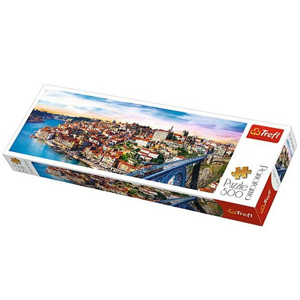 Trefl Puzzla Panorama Porto, Portugal 500pcs 29502 - ODDO igračke