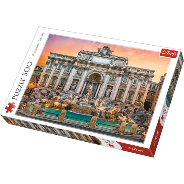 Trefl puzzla Fontanna di Trevi, Roma 500pcs 37292 - ODDO igračke